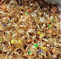 36 piece metal girl rings bulk vending machine toy pinata bag filler loot gag princess birthday party favor favour gift carnival