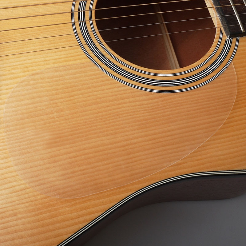 Transparent Acoustic Guitar Pickguard Droplets Or Bird Self-adhesive 41 Pick Guard PVC Protects Your Classical Surface