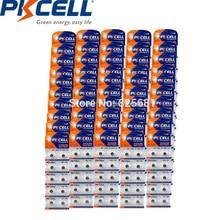 1000Pcs 100Cards PKCELL AG1 LR60 164 621 SR60 LR621 1.5v Alkaline Button Cell Batteries For watches Toys Flashlights