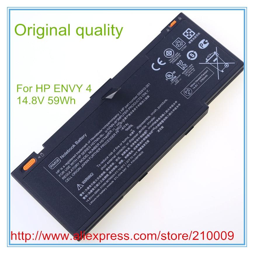 Original Novo Laptop Baterias para 592910-541 HSTNN-UBIK RM08