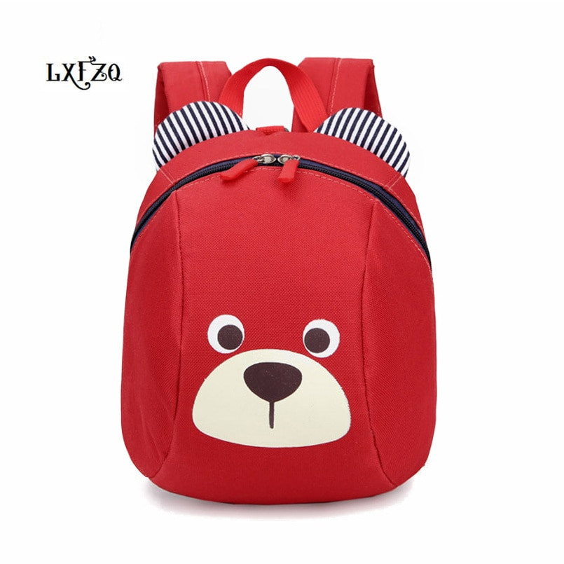 LXFZQ Mochila infantil children school bags new cute Anti-lost children's backpack school bag backpa