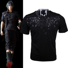 CostumeBuy Game Final Fantasy XV Noctis Cosplay T-shirt Anime FF15 Men T Shirt Halloween Gift Costume L920