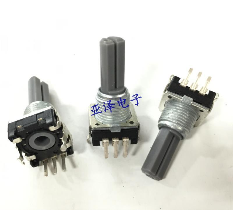 5 pcs EC121102EZB Soundwell codificador sem pisar 24 posicionamento do eixo comprimento 20 MM potenciômetro digital de pulso