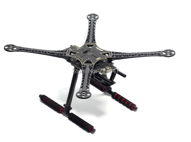 500mm S500 SK500 Quadcopter Multicopter Frame Kit PCB Version with Carbon Fiber Landing Gear for FPV Quad Gopro Gimbal Upgrade