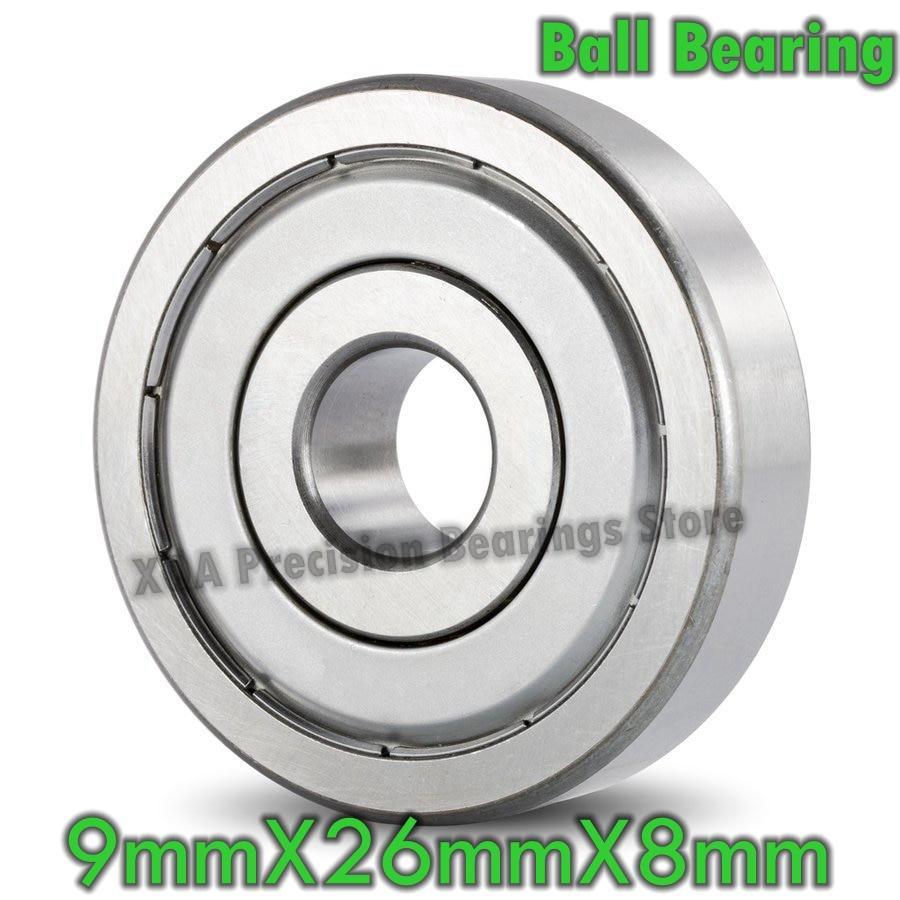 1 Uds., rodamiento de bolas 629 ZZ 629-2Z 629 2RS 629 2RZ 629 DDU 9x26x8mm, producto nuevo, alta calidad, venta directa de fábrica