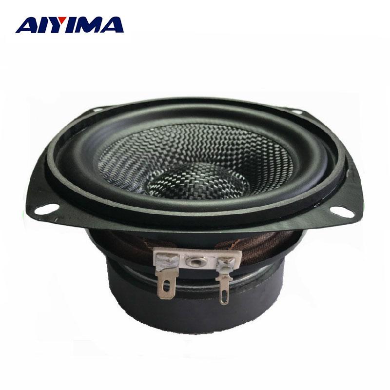 AIYIMA, 1 Uds., altavoz de Audio portátil de 4 pulgadas, 4Ohm, 30 W, altavoz de fibra de vidrio, altavoces de Audio exteriores húmedos para cine en casa