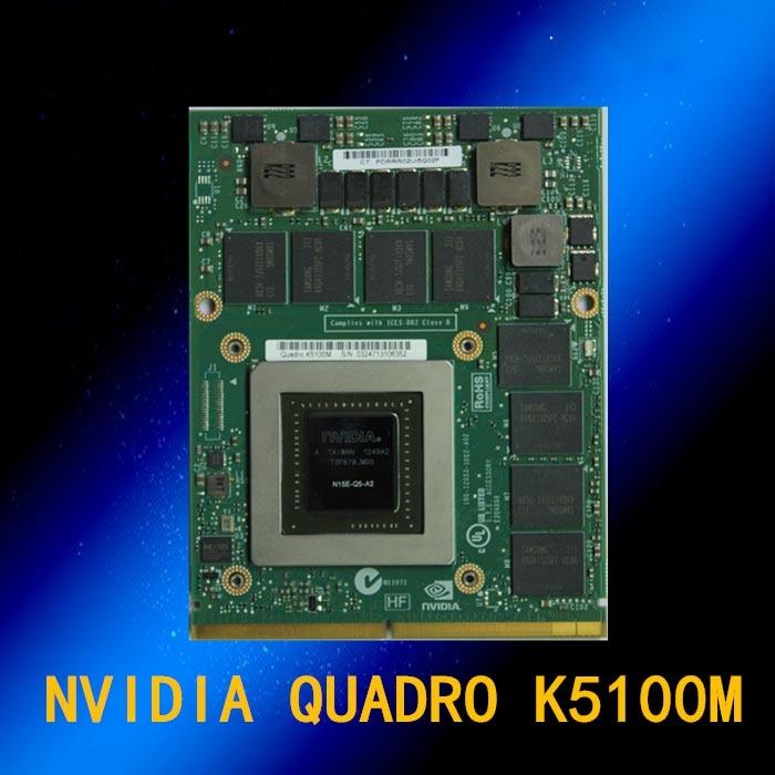 Quadro K5100M 8 gb DDR5 D7Z23AV 708539-001 728555-001 Placa Gráfica