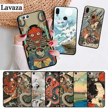 Lavaza Japonais style Art coque en silicone pour Xiaomi Redmi 4A 4X5 5A 6 6A 7 7A 8 8A K20 Pro Plus S2 Aller