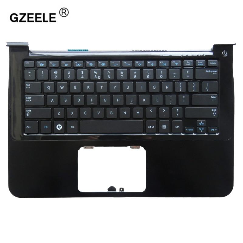 Клавиатура GZEELE для ноутбука samsung NP900X3A 900X1B 900X1A 900X3A-A01 900X3A-B01, верхний чехол на английском языке