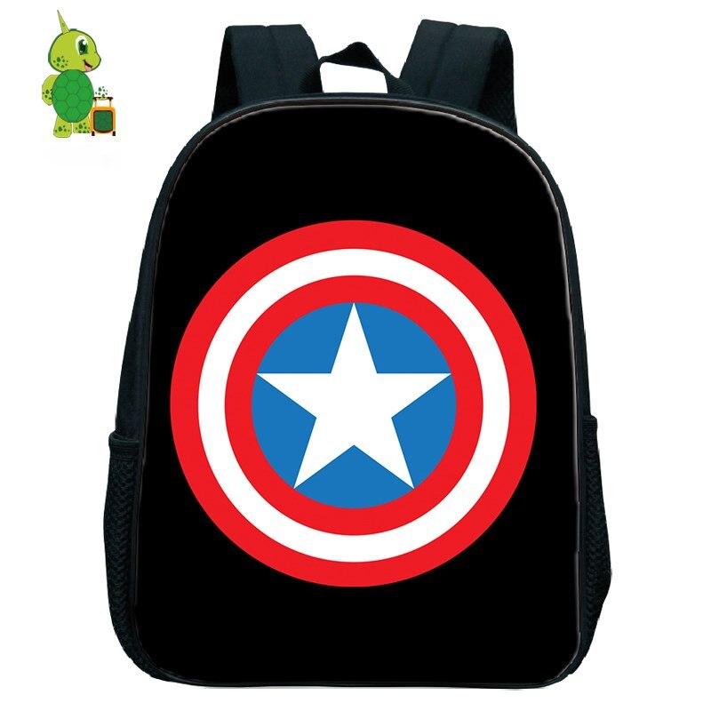 Mochila De Los Vengadores del Capitán América, mochilas escolares para niños pequeños, mochila primaria para niños y niñas, mochilas pequeñas para niños