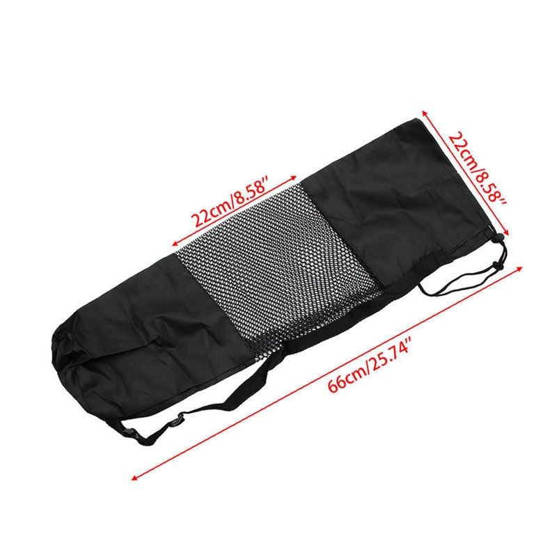 Wysokiej jakości nylonu yoga mat pilates przewoźnika torby siatki centrum regulowany pasek przypadku przenośne ramię torba brand new 3