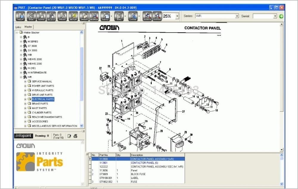 Crown parts & ferramenta de recursos de serviço 5.06
