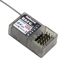 Radiolink FHSS R6FG v2 2.4G 6 canaux récepteur de système de radiocommande RX pour RC6GS RC4GS RC3S T8FB transmetteur F21425