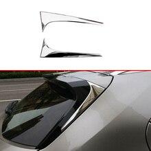 For Lexus UX200 250H 260H 2019 2020 ABS Chrome Side Door Rear View Window Spoiler Cover Trim Insert Garnish Bezel