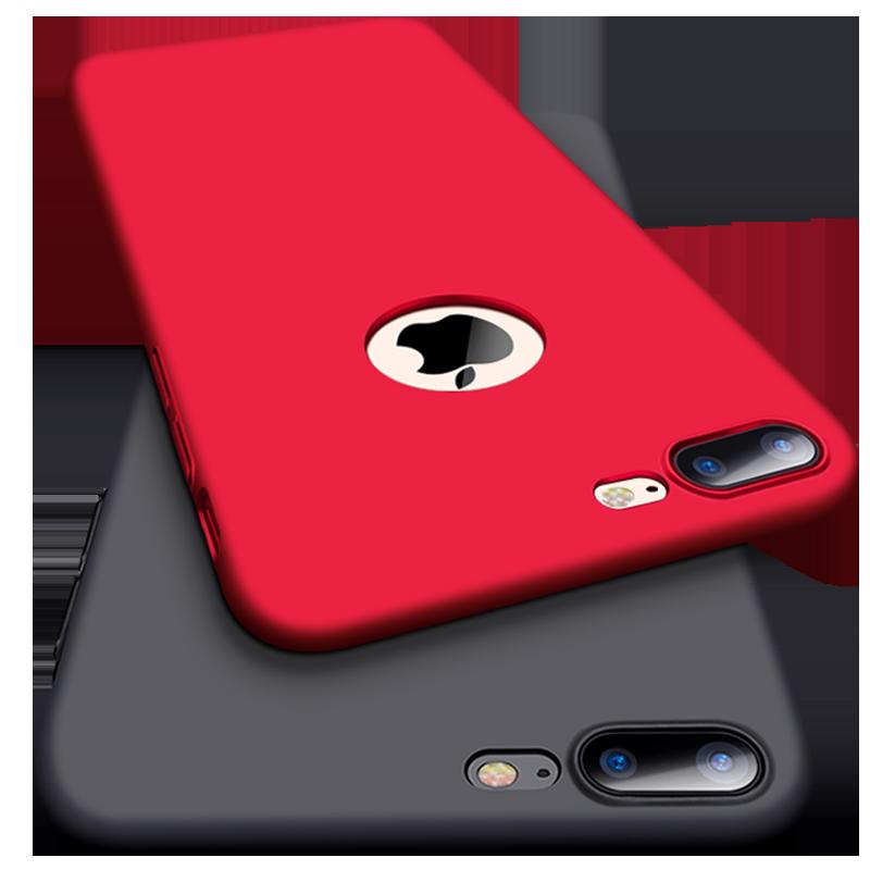 Capa para iphone 7 8 6 s 6 s 5 5S se x xr 10 xs max capa de telefone celular duro pc ultra fino para iphone 6 plus 6 splus 7 plus 8 mais fundas