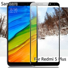 3D Curved Edge Tempered Glass For Xiaomi Redmi 5 Plus Glass Screen Protector for Xiomi redmi 5 plus
