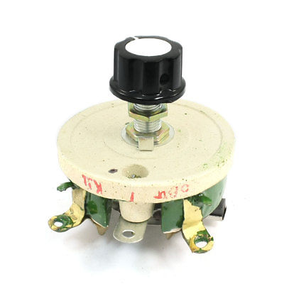 Potenciómetro de cerámica bobinado resistor de Reóstato ajustable 50W 1R/2R/5R/10R/20R/30R/50R/100R/200R/300R/500R/1KR/2KR/3KR