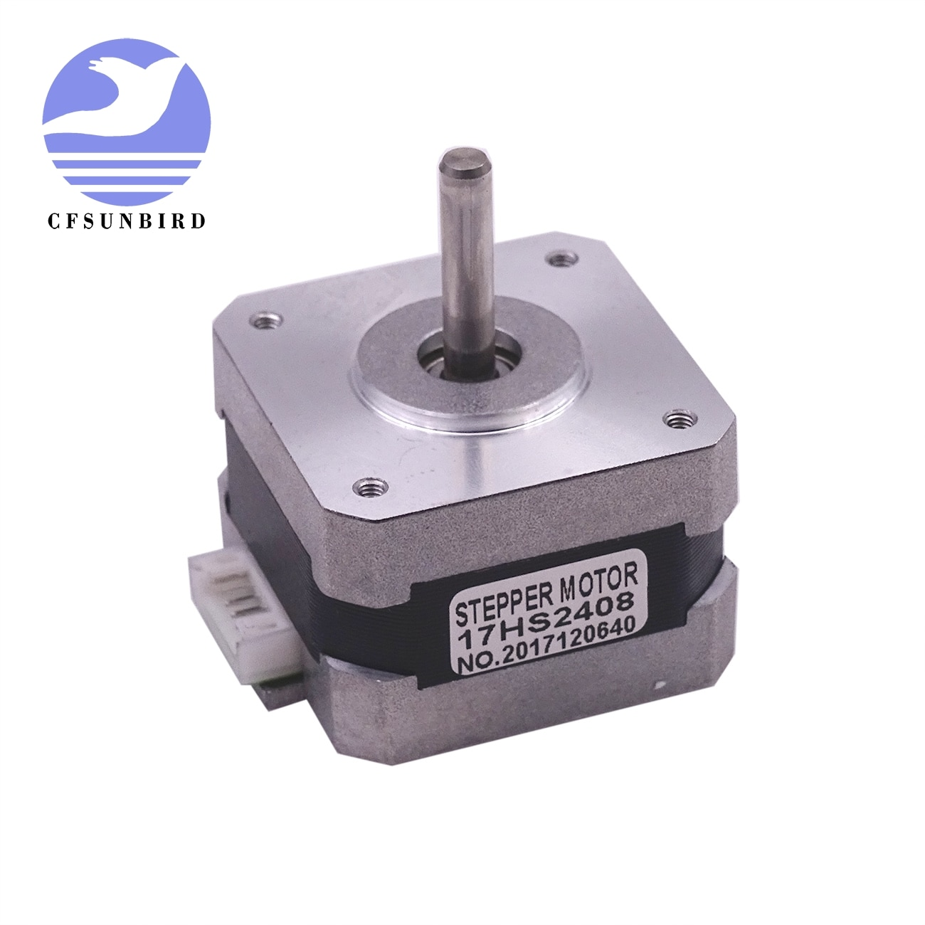 CE certification 1 PCS 17HS2408 4-lead Nema 17 Stepper Motor 42 motor 42BYGH 0.6A CECNC Laser and 3D printer motor