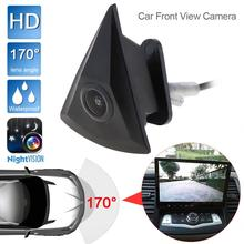 Caméra de vue de face de voiture adaptée pour GOLF/Jetta/Passat/Polo/Tiguan Vision nocturne caméra de voiture à 170 degrés