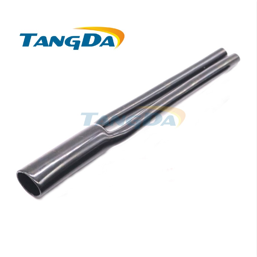 Tangda-غلاف كابل الصوت والفيديو PVC ، غمد أنبوب التشعب ، النوع Y ، بوق سلك الإشارة ، قطعتان ، OD6mm