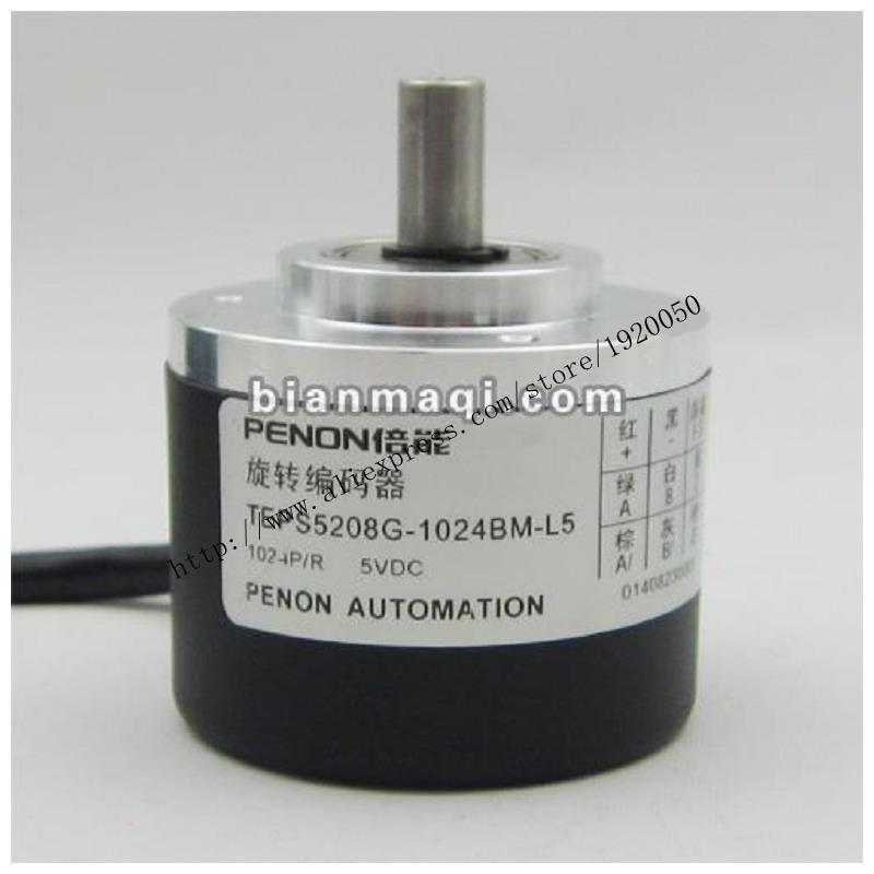 Spot TEP-S5208G-1024BM-L5 codificador rotativo 1024 pulsos de diâmetro 8mm