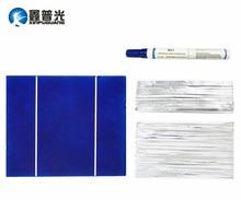 Xinpuguang 100 Вт DIY НАБОРЫ солнечных панелей 30 шт. 156*130 мм поликристаллическая ручка флюса для солнечных батарей + провод вкладки + провод автобуса для панели солнечных батарей