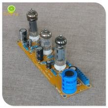 Готовая Плата усилителя мощности 6N2/6N1 6P1 3 Вт * 2, включает в себя электронный трубный усилитель, двухсторонняя панель, набор «сделай сам».
