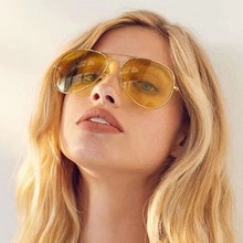 Night Vision Sunglasses Wome Men R3026 Luxury Brand Designer Pilot Metal Frame Retro Aviation Sunglasses Vintage Goggles Fashion