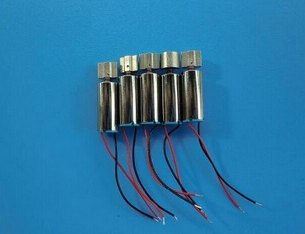 Free shipping LOW POWER Vibration Pager Vibrating Vibrator Micro mobile Motor 1.5V 6mm diameter 10mm lengther w/Leads
