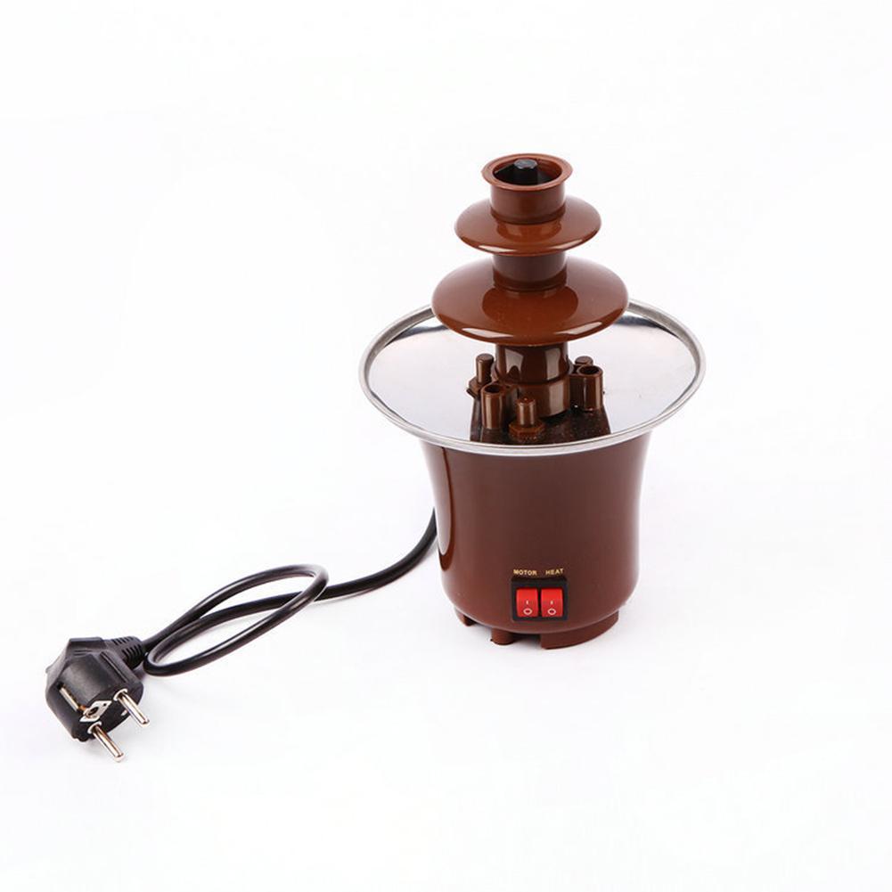 Adoolla giratorio original fuente de Chocolate máquina de fusión con función de calentamiento máquina de templado de Fondue de Chocolate