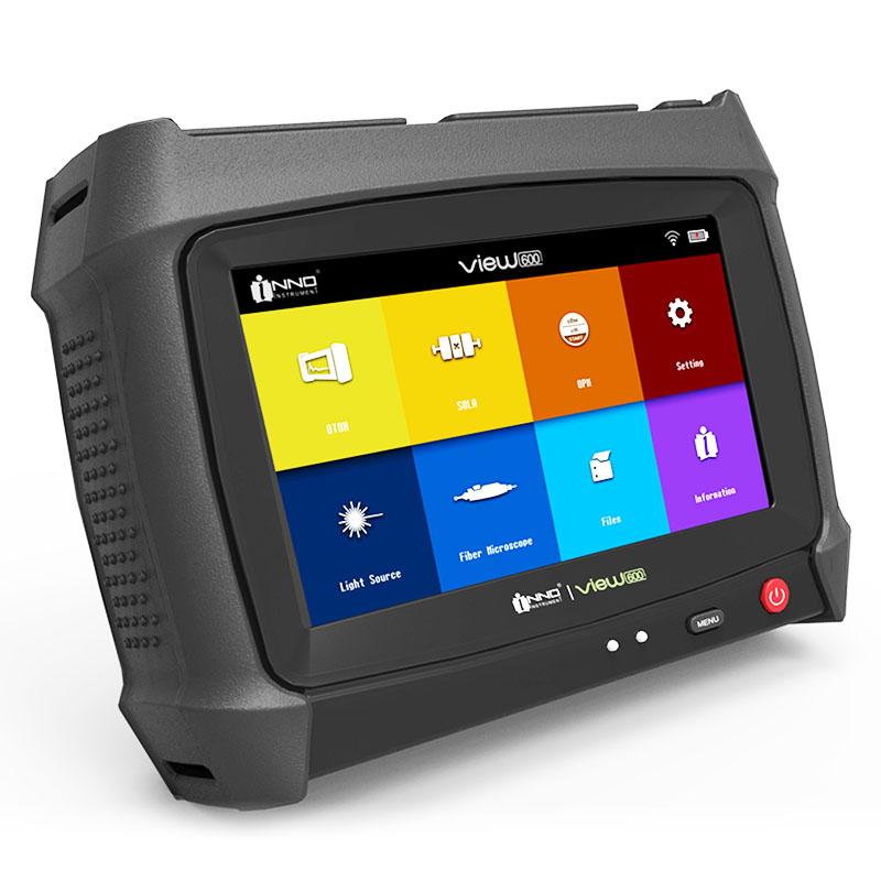 Envío gratis por DHL, INNO View600 SOLA, la pantalla táctil OTDR más precisa del mundo, vista 600 SOLA SM, OTDR 1310/1550 39/38dB