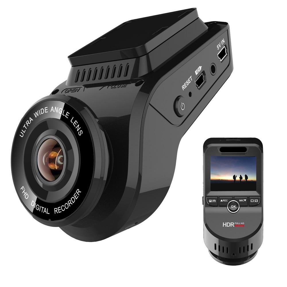 4K 2160P Dash Camera with 1080P Rear Cam Built in GPS traker WDR Night Vision Novatek 96663 Car Video Recorder WiFi DVR