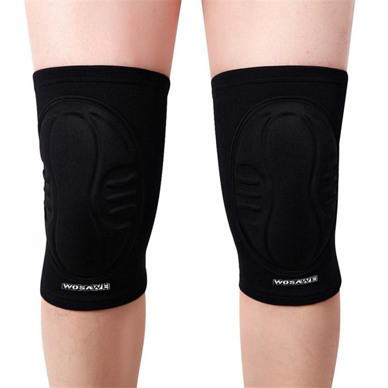 Hockey Knee Pads Motocross Protective Gears Cycling Leg Guard Motorcycle Leg Protector Dance Tape Skiing Bike Sports Knee Brace