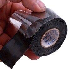 Black Multifunctional Waterproof Silicone Repair Tape Bonding Home Water Pipe Repair Tape Tools Newest