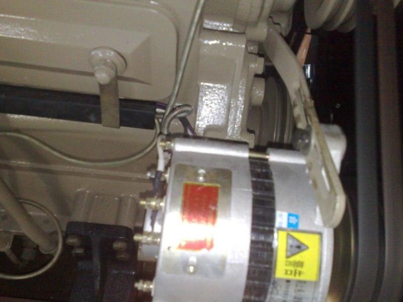 Weifang Ricardo K4100D K4100ZD 12V engine Alternator small generator for 15kw-40kw weifang Diesel Generator parts