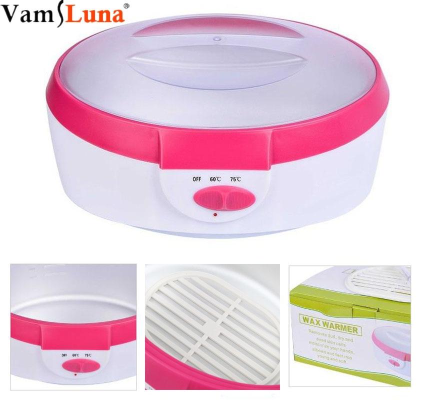 2.5l aquecedor de cera de parafina máquina de tratamento da pele remoção do cabelo de alta capacidade parafina aquecedor de cera conjunto de aquecimento