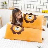 cute pillow boy long pillow bed cushion big backrest bed sofa living room pillow