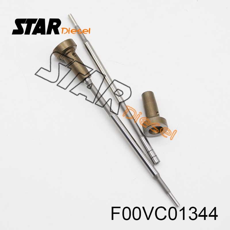 Inyector de combustible válvula de F00V C01 344 Válvula de Control FooV C01 344 Válvula de Control para inyector F00VC01344 para 0445110276
