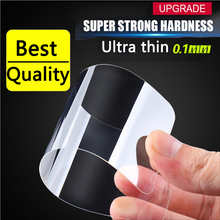 New high quality ultra thin 0.1mm 9H HD anti fingerprint 2.5D screen protector film tempered glass for iphone 6 6s plus