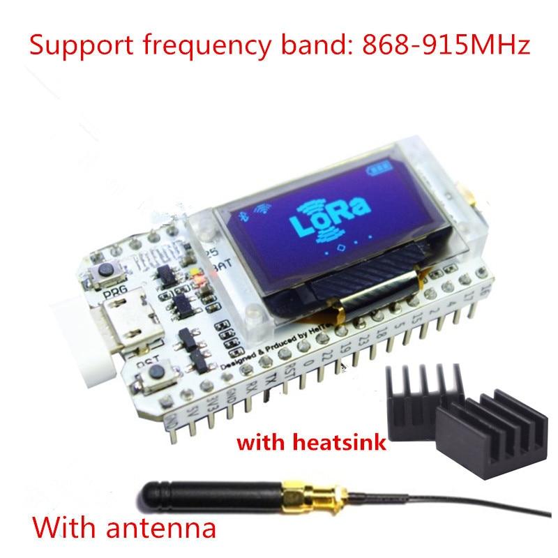 868 МГц-915 МГц SX1276 ESP32 LoRa 0,96 дюйма синий OLE