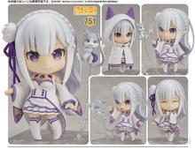 Re zéro kara Hajimeru Isekai Seikatsu Emilia 751 # figurine daction PVC nouvelle Collection figurines jouets Collection pour cadeau de noël