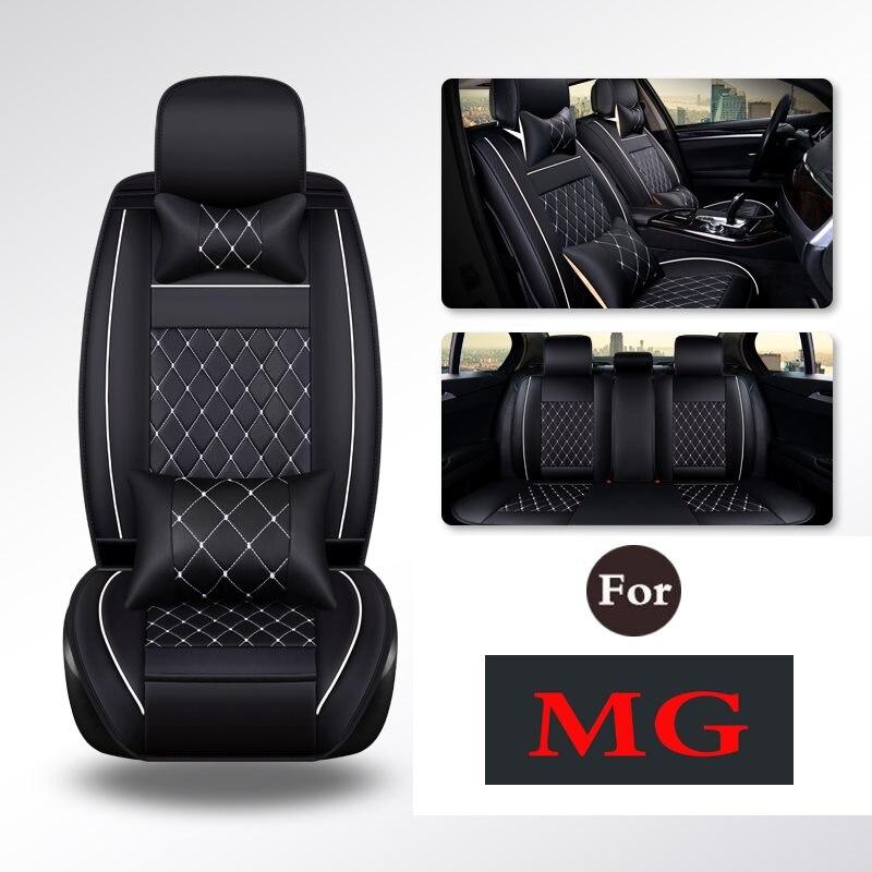 Asientos de coche fácil de limpiar, cuero de la PU de cojines-Anti-Slip Universal asiento almohadilla para Mg Mg3 Gs Gt mg6 Mg5 Mg3sw Mg7 Mgtf