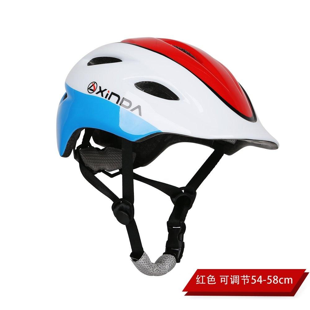 Casco de escalada para niños de buena calidad colorido ABS + Material de PC ajustable 54 CM-58 CM para montañismo deportes ciclismo
