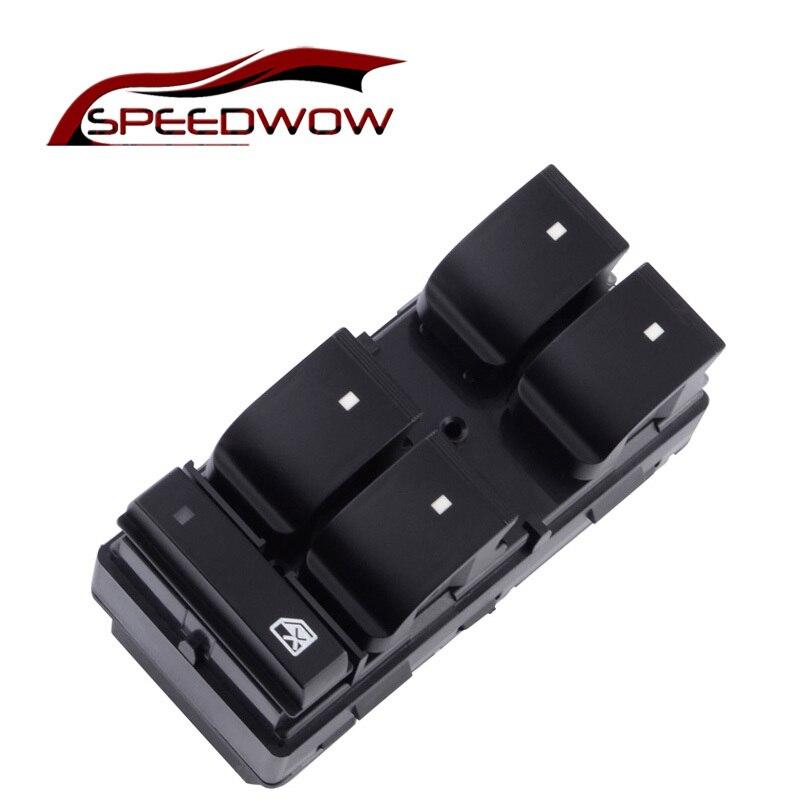 Speedwow interior do carro frente esquerda direita power master janela switches oe #25951963 para chevrolet silverado traverse gmc sierra
