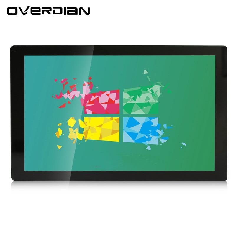 "21 ""/21,5 pulgadas VGA/USB/Interfaz DVI Single Touch Control Industrial Monitor LCD/pantalla de Metal instalación de oreja fija"