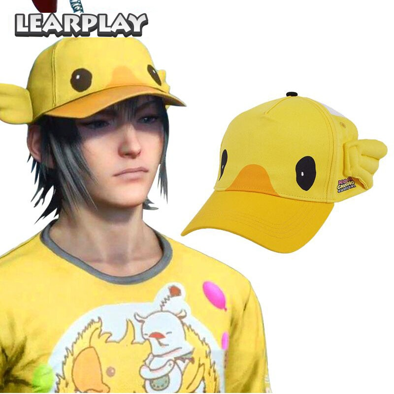 Final Fantasy XV Noctis Lucis Caelum Карнавальная Кепка Moogle Chocobo FF15 шляпа костюм на Хэллоуин аксессуары для мужчин и женщин