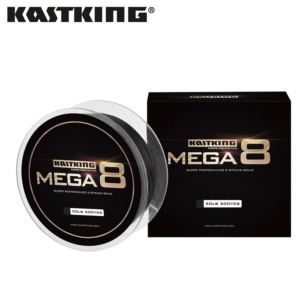 KastKing marque Mega 8 274M 457M 8 brins japon PE tressé ligne de pêche fil de pêche Multifilament pour toute la pêche 10-80LB