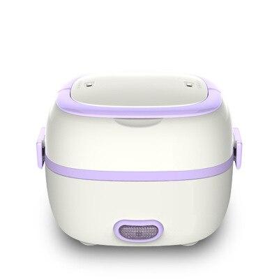 Mini arrocera portátil alimentos calefacción vapor calor conservación comida Caja multifuncional caja de almuerzo eléctrica