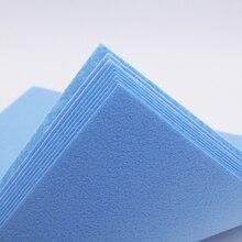 Mavi Polyester Keçe Kumaş Scrapbooking Kumaş Keçe El Sanatları 1MM Kalınlığında Keçe Levha Doku Tessuto Feutrine Fieltro 30cm * 30cm