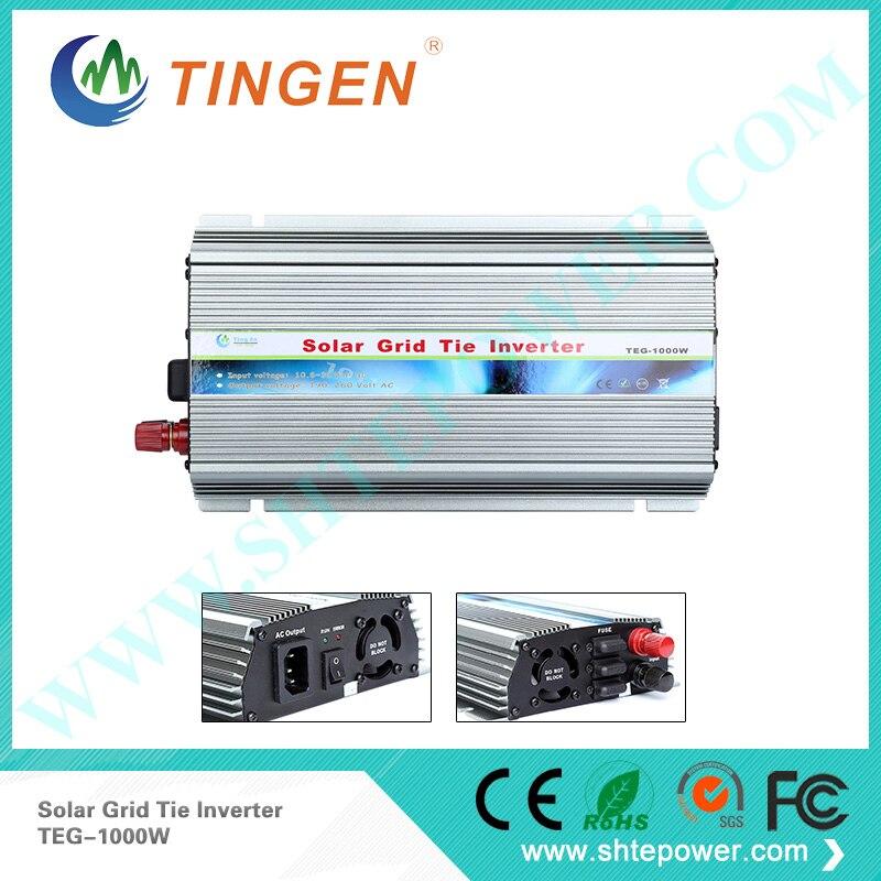 1000w de lazo de la rejilla pv inversores solar 12v 24v dc ac 220v 230v 240v 100v 110v 120v convertidor